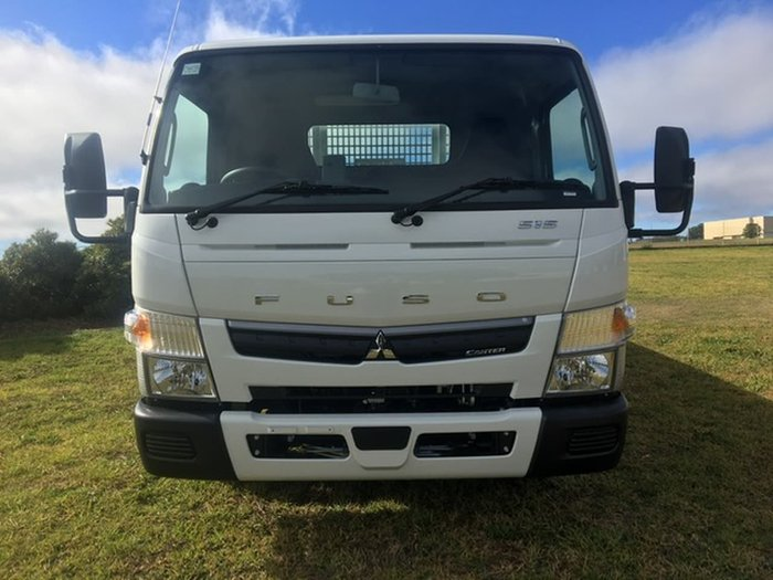 2020 FUSO CANTER 515 WIDE CAB ALLOY TRAY White