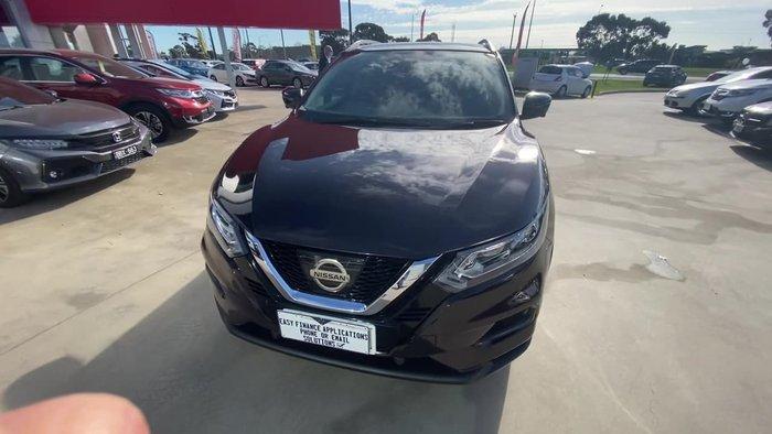 2018 Nissan QASHQAI ST-L J11 Series 2 Purple