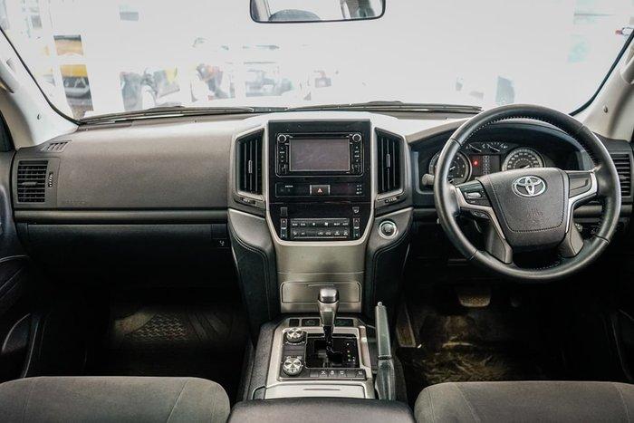 2018 Toyota Landcruiser GXL VDJ200R 4X4 Dual Range White