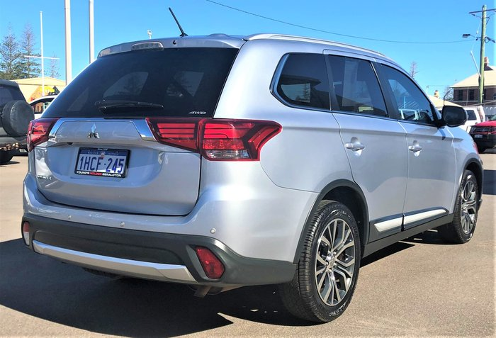 2015 Mitsubishi Outlander LS ZK MY16 4X4 On Demand Silver