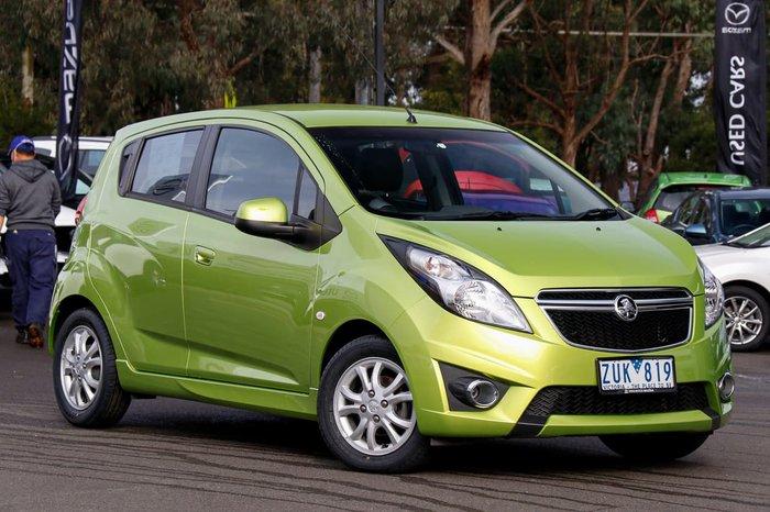 2013 Holden Barina CD TM MY13 Green