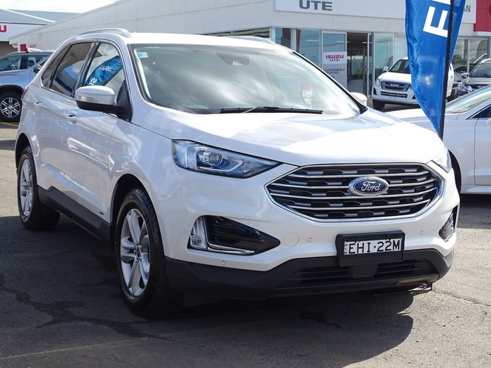2019 Ford Endura Trend CA MY19 White