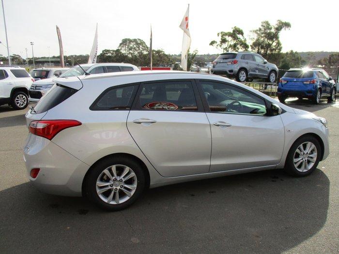 2014 Hyundai i30 Elite GD Silver