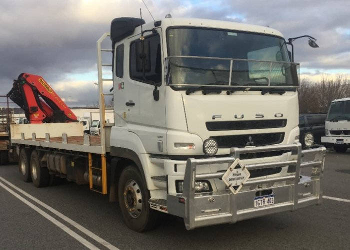 2018 FUSO FV 54 null null WHITE