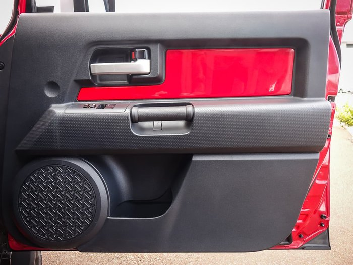 2016 Toyota FJ Cruiser GSJ15R MY14 4X4 Dual Range Red