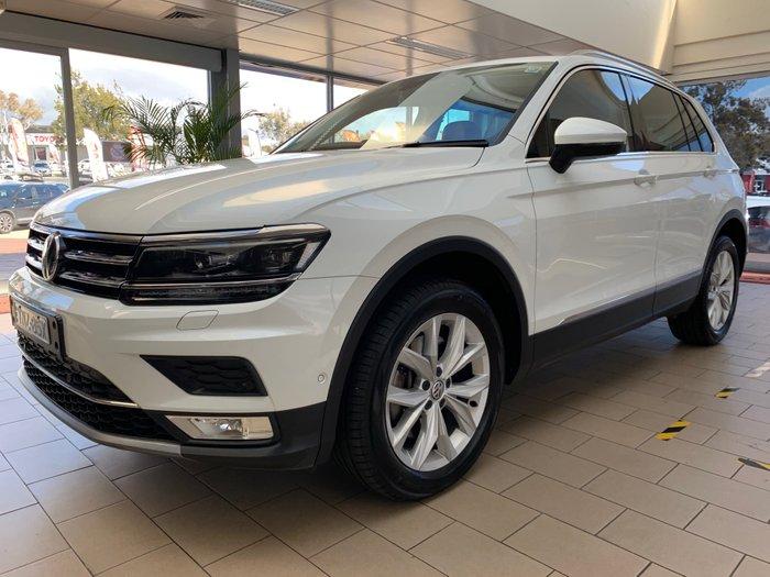2016 Volkswagen Tiguan 140TDI Highline 5N MY17 Four Wheel Drive White