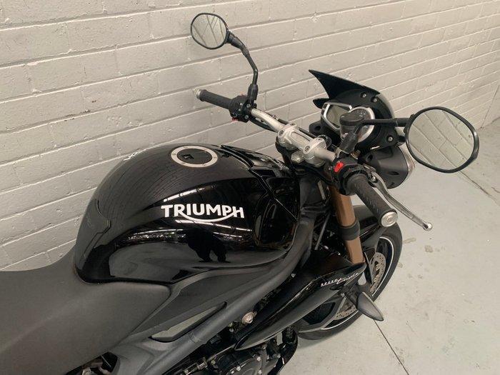 2015 Triumph SPEED TRIPLE Black