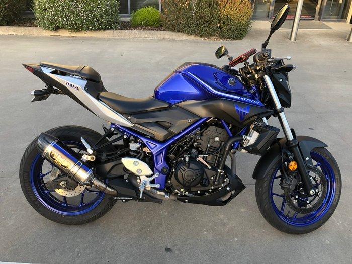 2017 Yamaha MT-03 (MT03LA) (ABS) Blue