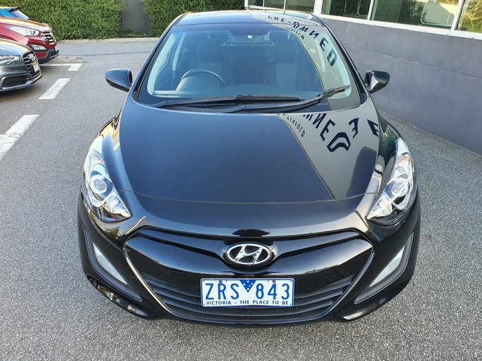 2012 Hyundai i30 Active GD Black