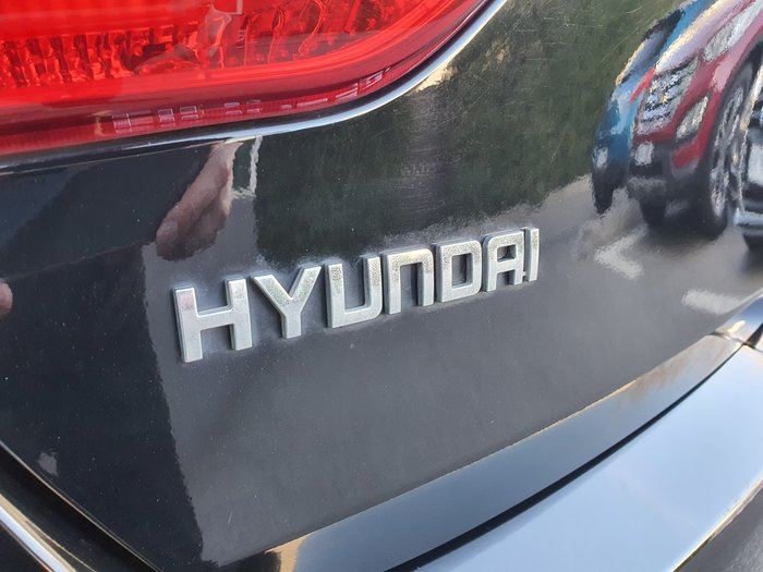 2012 Hyundai i30 Active GD Black
