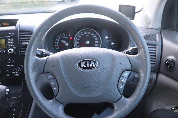 2012 Kia Grand Carnival Si VQ MY12 Black