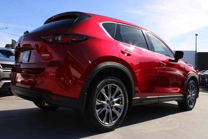 2017 Mazda CX-5 Akera KF Series 4X4 On Demand Red