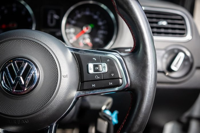 2017 Volkswagen Polo GTI 6R MY17 White