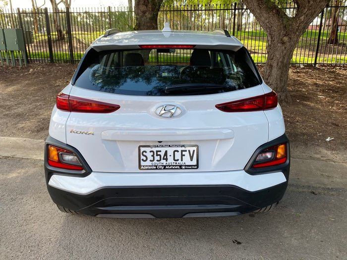 2019 Hyundai Kona Active OS.2 MY19 White
