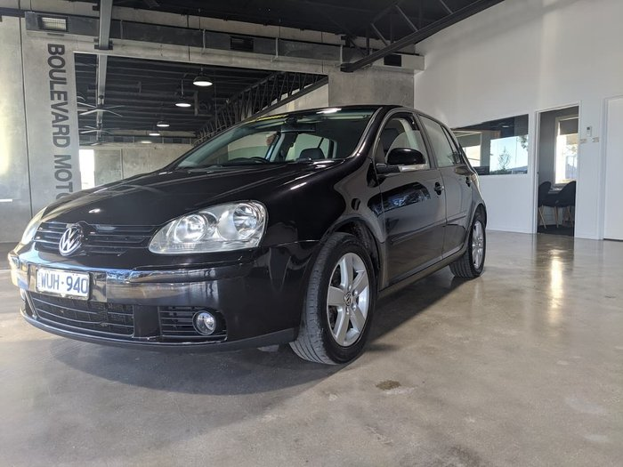 2008 Volkswagen Golf Pacific V MY08 Black