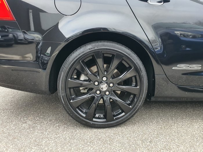 2016 Holden Commodore SS VF Series II MY16 Black