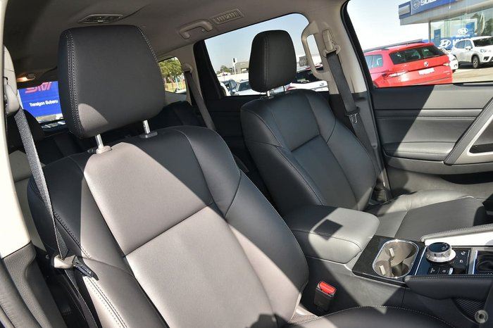 2020 Mitsubishi Pajero Sport Exceed QF MY20 4X4 Dual Range Black