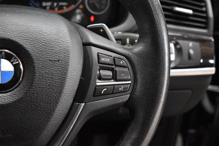 2015 BMW X4 xDrive20i F26 4X4 Constant Black