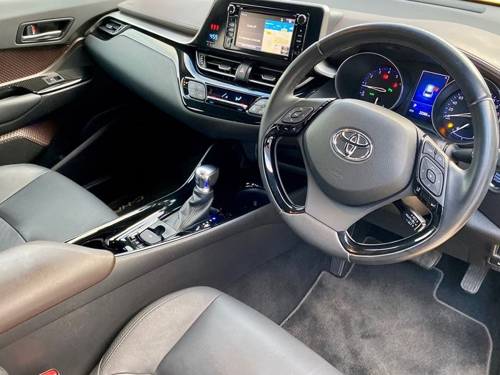 2017 Toyota C-HR Koba NGX10R Yellow