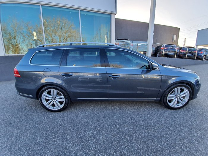 2011 Volkswagen Passat V6 FSI Highline Type 3C MY12 Four Wheel Drive Grey