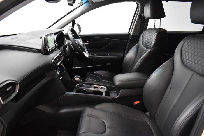 2018 Hyundai Santa Fe Elite TM MY19 4X4 On Demand White
