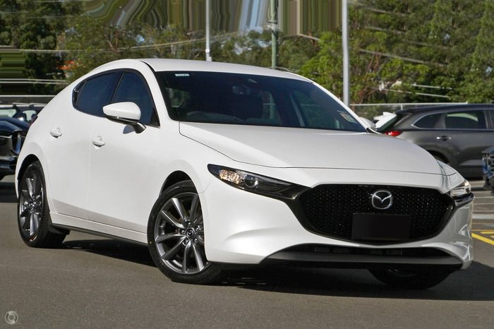 2020 Mazda 3 G25 GT BP Series White