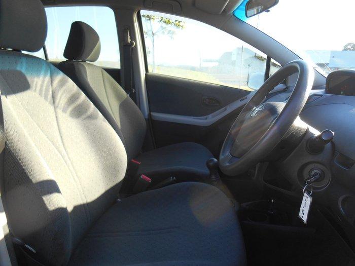 2010 Toyota Yaris YR NCP90R MY10 Grey
