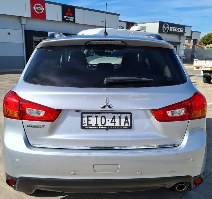 2015 Mitsubishi ASX LS XB Cool Silver