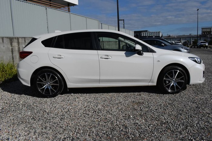 2019 Subaru Impreza 2.0i G5 MY19 Four Wheel Drive White