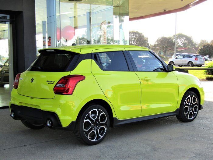 2020 Suzuki Swift Sport AZ Series II Yellow