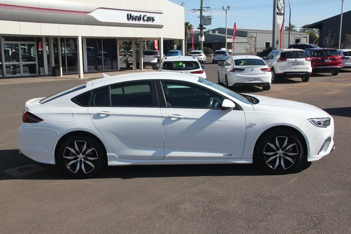 2018 Holden Commodore RS ZB MY19 4X4 On Demand White