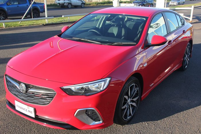 2018 Holden Commodore RS ZB MY19 4X4 On Demand Red