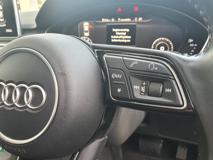 2016 Audi A4 sport B9 MY17 Four Wheel Drive Blue