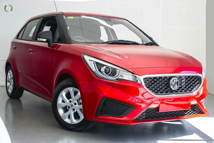 2019 MG MG3 Core MY20 Red