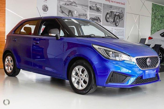 2019 MG MG3 Core MY20 Blue
