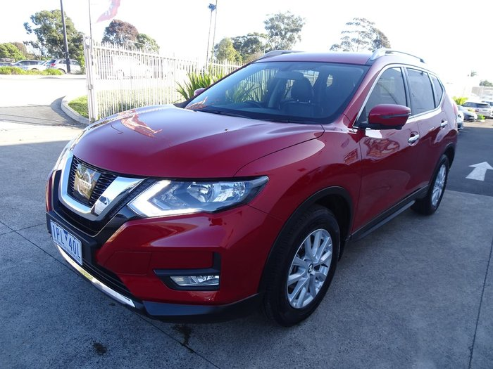 2019 Nissan X-TRAIL ST-L T32 Series II 4X4 On Demand Red