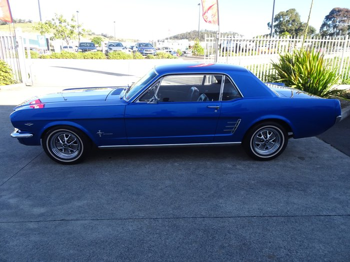 1966 Ford Mustang (No Series) Blue