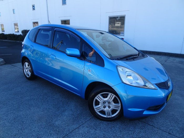 2010 Honda Jazz VTi GE MY10 Blue