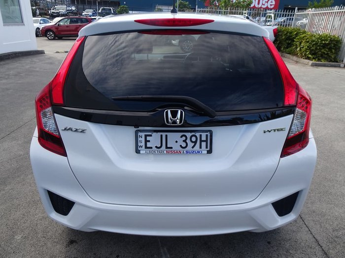 2017 Honda Jazz VTi GF MY17 White