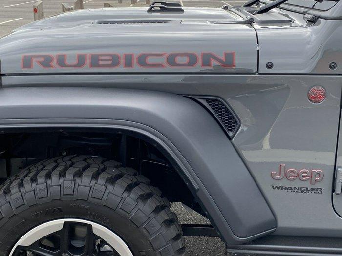 2020 Jeep Wrangler Unlimited Rubicon JL MY20 4X4 Dual Range STING GREY