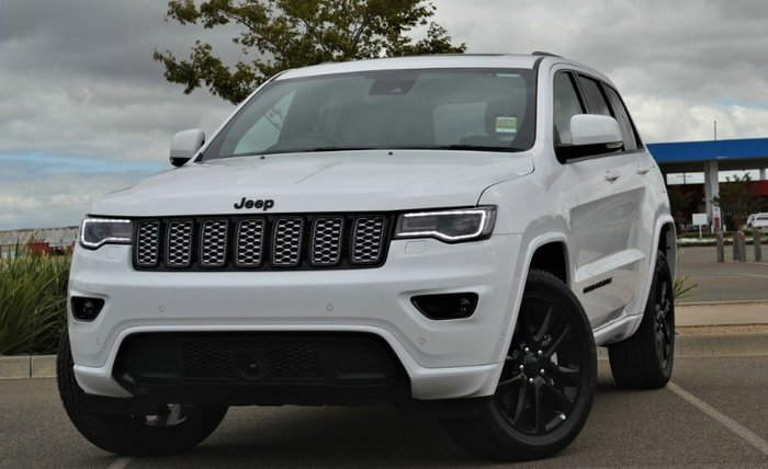 2020 Jeep Grand Cherokee Night Eagle WK MY20 4X4 Dual Range BRIGHT WHITE