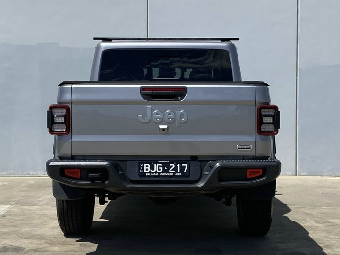 2020 Jeep Gladiator Overland JT MY20 BILLET SILVER METALLIC