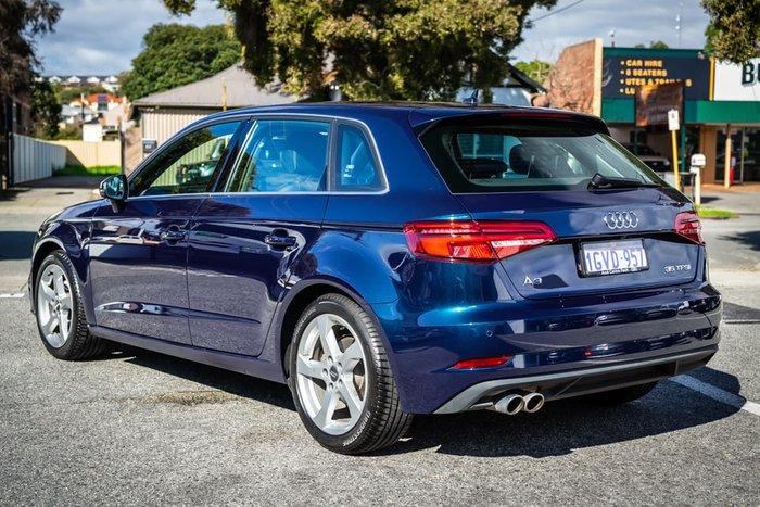 2019 Audi A3 40 TFSI 8V MY19 Blue