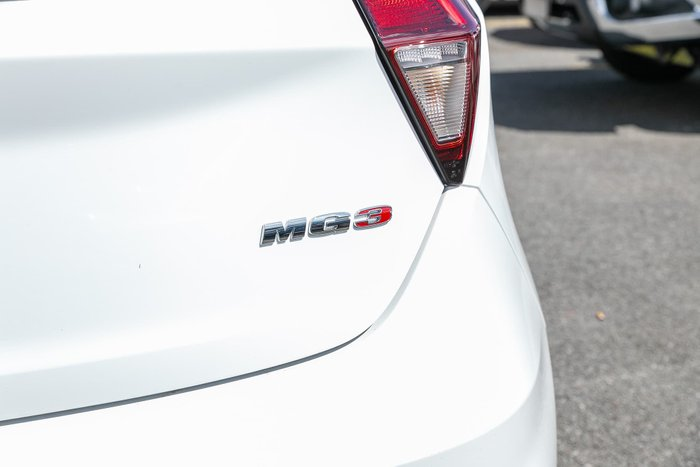 2020 MG MG3 Excite MY20 White