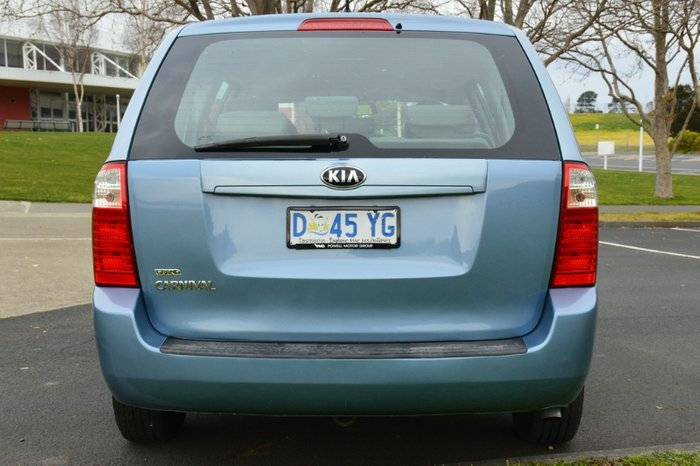 2014 Kia Grand Carnival S VQ MY14 BLUE