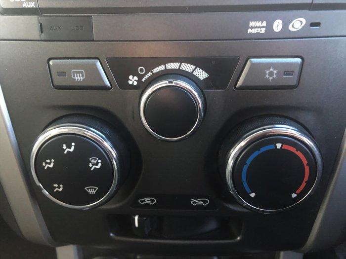 2013 Holden Colorado LX RG MY14 4X4 Dual Range White