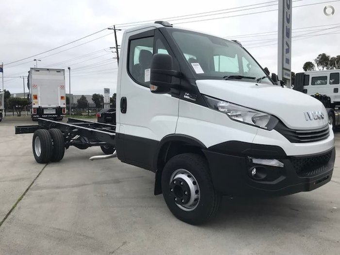 2020 IVECO DAILY 70C17 CAB CHASSIS 4350MM WB null null white