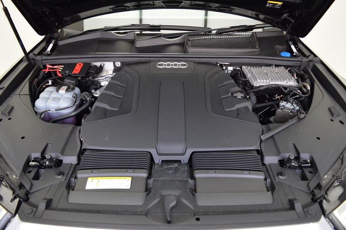 2018 Audi Q7 50 TDI 4M MY19 Four Wheel Drive Black