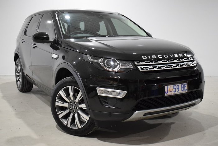 2017 Land Rover Discovery Sport TD4 180 HSE L550 MY17 4X4 Constant Black
