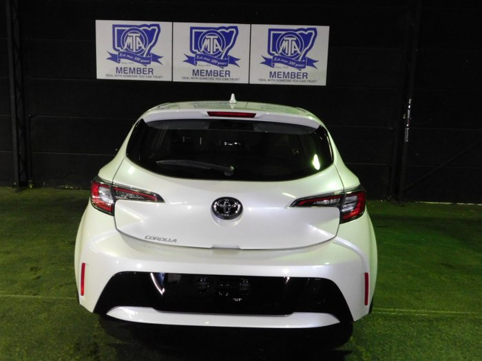 2018 Toyota Corolla Ascent Sport MZEA12R Crystal Pearl